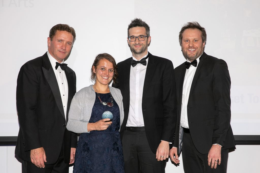 Clayhill Arts Silver Award Winners for Tourism Innovation