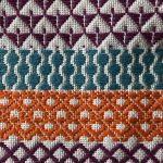 Romor Designs Kogin - coloured border patterns